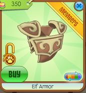 Elf Armor yellow