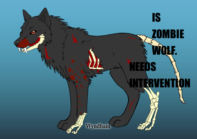 File:Zombie Wolf Meme.png