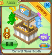 Carnival Game Booth 7