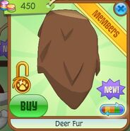 Deer Fur (Brown)
