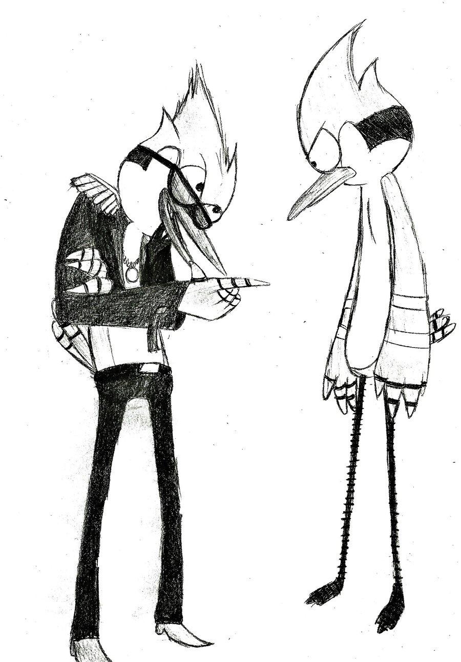Mordecai And Rock Star Regular Show 30726338 900 1293