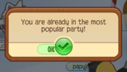 Most Popular Party