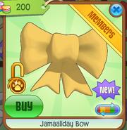 Shop Jamaaliday-Bow Yellow