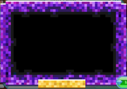 Masterpiece Purple-Pixel-Frame