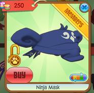 Blue Ninja Mask