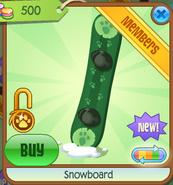 Shop Snowboard Green