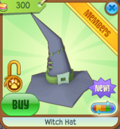 Witch Hat new blue