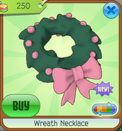 Wreath-Necklace Pink