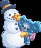 Koala and Snowman