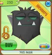 Yeti Mask new black
