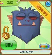 Yeti Mask new blue