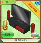 HD Television black