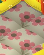 Bounce-House Flower-Carpet
