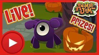 Spooky Live Stream! Animal Jam & Play Wild!