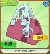 Rare Pink Purse Animal Jam