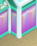 Beach-House Rainbow-Pink