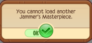 Cannot load another jammers masterpiece