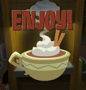 Enjoy your cocoa