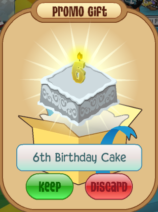 Excellent 6Th Birthday Cake Animal Jam Wiki Fandom Funny Birthday Cards Online Alyptdamsfinfo