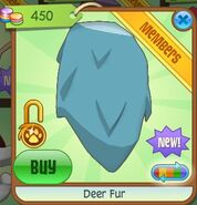 Deer fur (Sky-Blue)