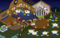 Dinner party panorama
