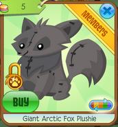 Giantarcticfoxplushie7