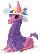 Llama With Hat