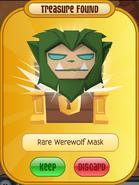 TFDPrize Rare Werewolf Mask Green