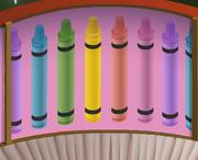 Mushroom-Hut Rainbow-Pink