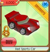 Red sports car 5