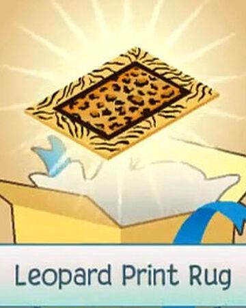 Leopard Print Rug | Animal Jam Wiki