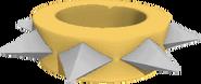 Short wristband large yellow