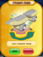 Cream Airplane Wings