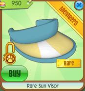 Rare Sun Visor