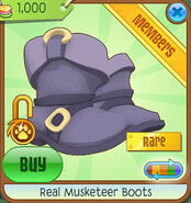 Shop Real-Musketeer-Boots Purple