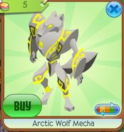 Arctic Wolf Mecha yellow