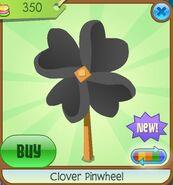 Clover Pinwheel black