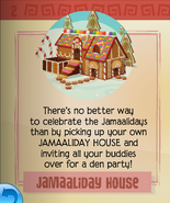Jamaaliday house in the jamaa journal