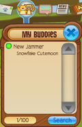 Buddy-List New-Jammer