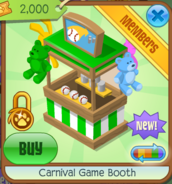Carnival Game Booth 3