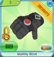 Diamond-Shop Mummy-Glove Black