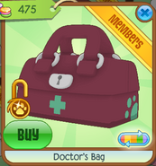 Medical-Center-Shop Doctors-Bag Magenta