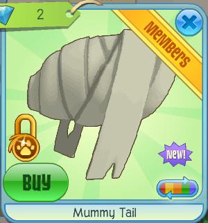 Mummy Tail Animal Jam Wiki Fandom Powered By Wikia