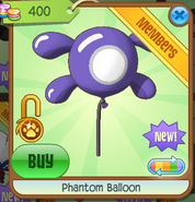 Phantom Balloon purple