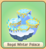 Regal winter palace icon