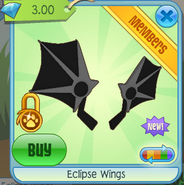 Eclipse Wings black