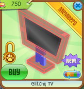Shop Glitchy-TV Red