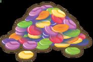 Gems pile artwork