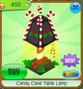 Candy Cane Table Lamp 8