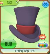 Hat-Shop Fancy-Top-Hat Purple